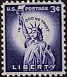 3 cent liberty stamp