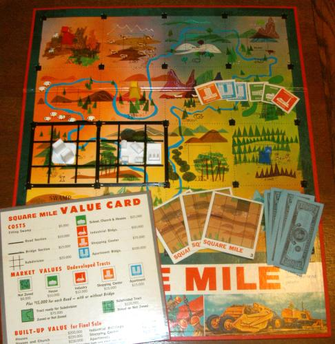 Square Mile game from Milton Bradley