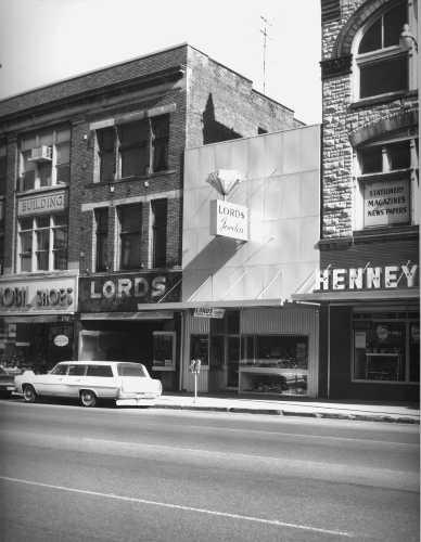 downtown Marion, Ohio, early 1960s