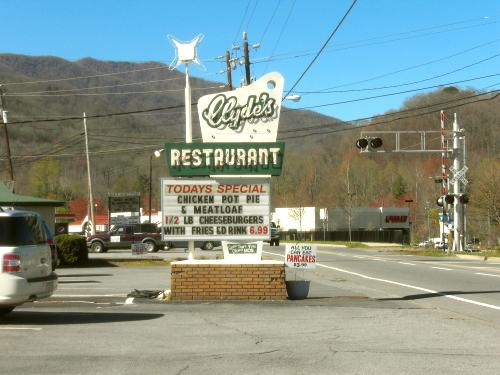Clyde's Restaurant, Waynesville, North Carolina