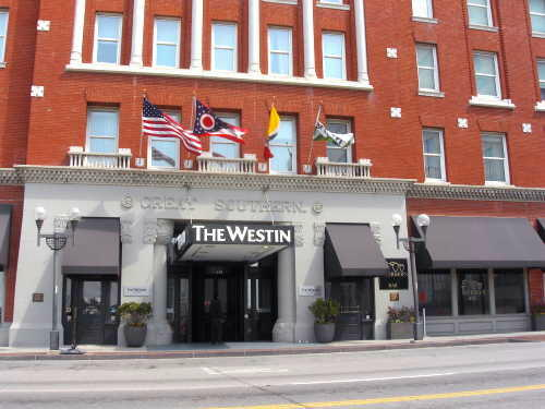 Westin Hotel (former Great Southern Hotel), Columbus, Ohio