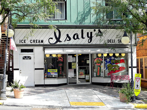 Typical Isaly's location
