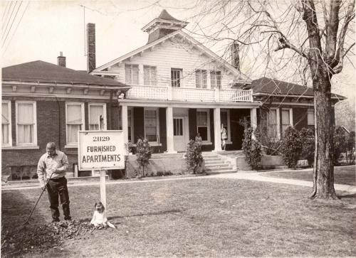 Euclid Historical Society building, as apartments in 1962