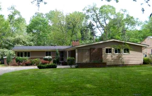 Forest Hills late 1950s ranch style home, East Cleveland, Ohio