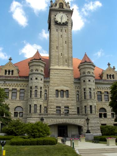 Wood County Courthouse, Bowling Green, Ohio