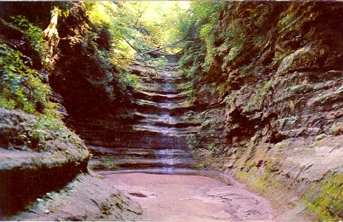 Starved Rock State Park, Illinois postcard