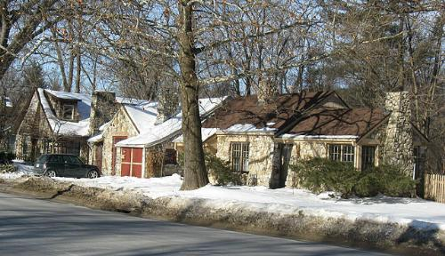 Moffitt Cottage home, Iowa City, Iowa
