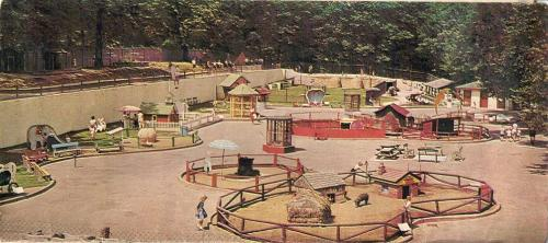 Fejérváry Park's Mother Goose Land, Davenport, Iowa, 1960