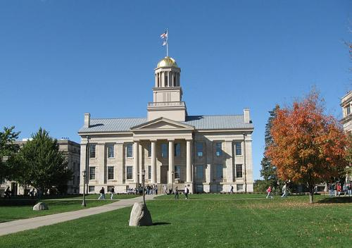 Old Capitol building, Iowa City, Iowa