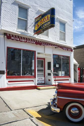 The Candy Kitchen, Wilton, Iowa