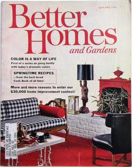 Better Homes and Gardens magazine, April 1962