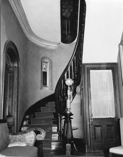 Interior of General Dodge House, Council Bluffs, Iowa