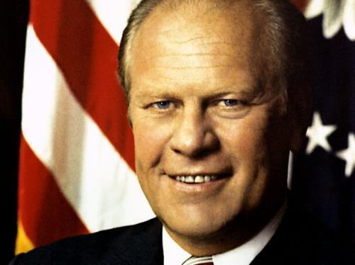38th President, Gerald R. Ford