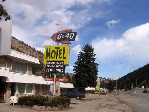 6-40 Motel, Idaho Springs, Colorado