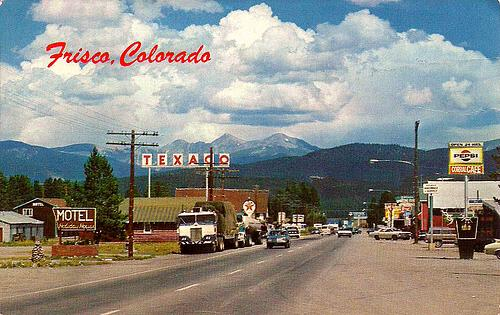 US-6 through Frisco, Colorado