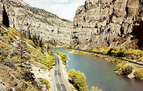 Glenwood Canyon, Colorado