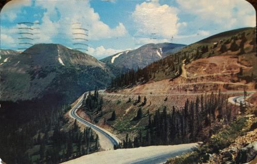US-6 over Loveland Pass, Colorado
