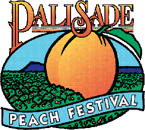 Official Palisade Peachfest logo