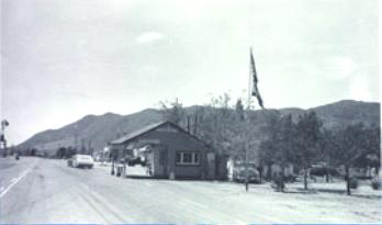 Benton Border Station, California Department of Food and Agriculture, ca. 1960