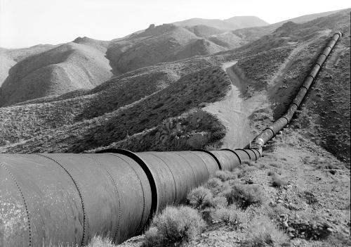 Los Angeles Aqueduct Pipeline, Jawbone Canyon, California