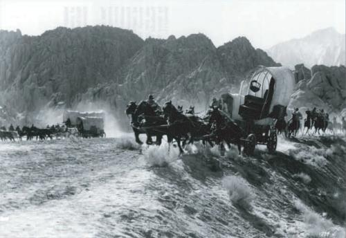 Still from 1962 filming of How The West Was Won
