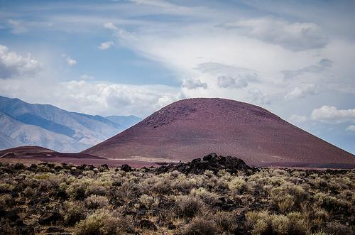 Red Hill cinder cone, Little Lake, California