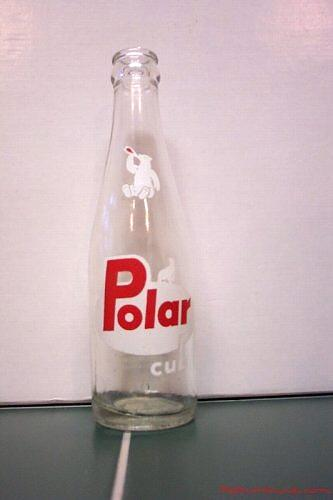 Polar Beverages bottle from about 1962