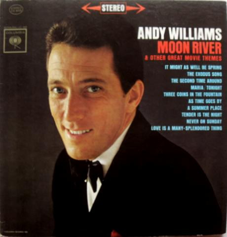 Moon River & Other Great Movie Hits album cover, 1962