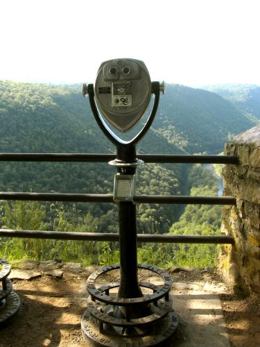 Tower Optical Co. scope, Colton Point State Park, Pennsylvania