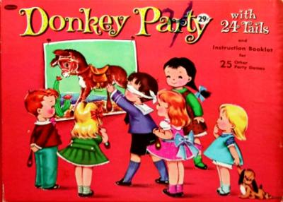 Whitman Donkey Party game from 1962