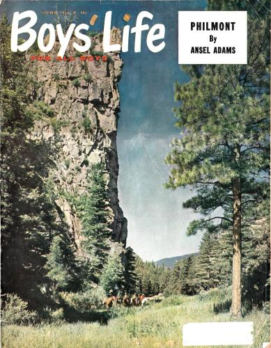 Front cover, October, 1962, Boys' Life