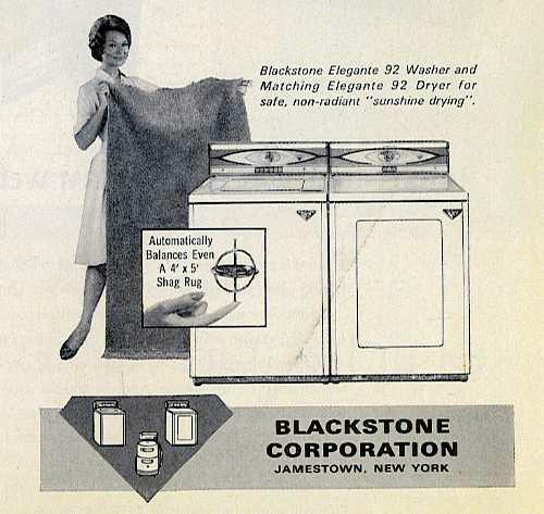 Blackstone appliances 1962 ad