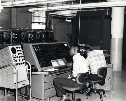 UNIVAC computer used in 1960 Census