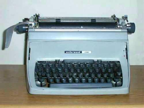 Underwood Five typewriter