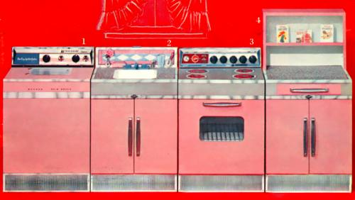 Toy kitchen from 1962 Spiegel Christmas Catalog