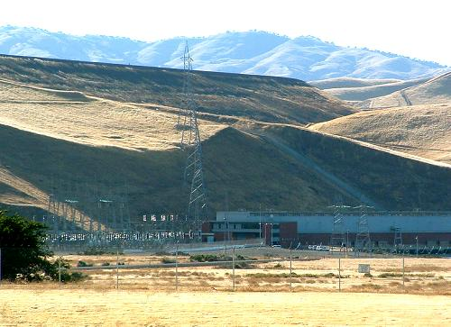 Gianelli Powerhouse at San Luis Dam, Los Banos, California