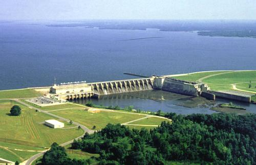 Walter F. George Lock and Dam, Chattahoochee River, Alabama and Georgia