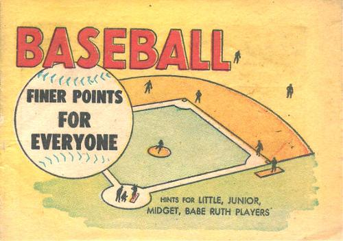 Finer Points of Baseball for Everyone comic book
