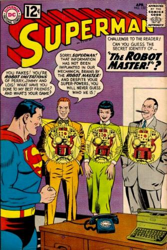 Cover of Superman #152, April 1962, art by Curt Swan