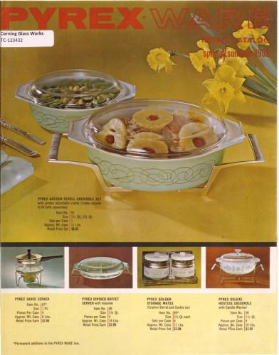 Front cover, Spring/Summer 1962 Pyrex Ware Retail Catalog