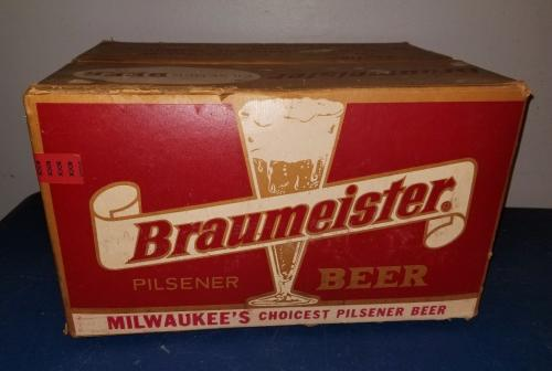 Braumeister Beer 24-bottle case from 1962