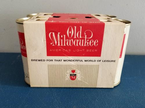 Old Milwaukee Beer 6-pack from 1962