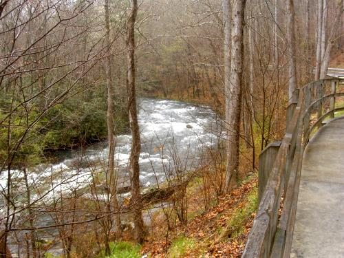 Nantahala River, Patton's Run Overlook, Nantahala Gorge, North Carolina