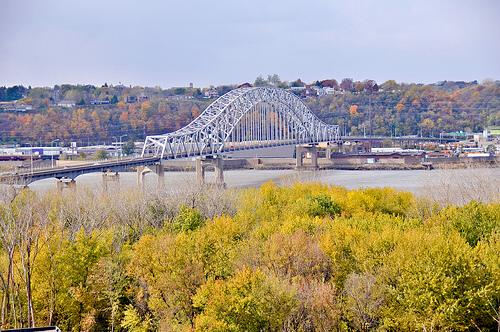 Julien Dubuque Bridge, Dubuque, Iowa