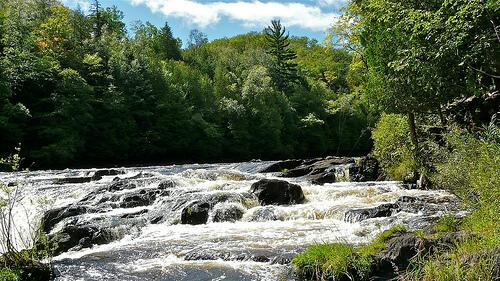 Piers Gorge, Menominee River, Norway Michigan