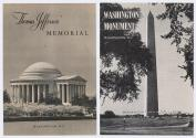 1962 brochures for Washington, DC National Monuments