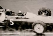 Jim Clark in a Team Lotus car, 1962