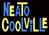 Masthead of the Neato Coolville blog, by Todd Franklin