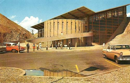 Dinosaur National Monument, Jensen, Utah, late 1950s postcard