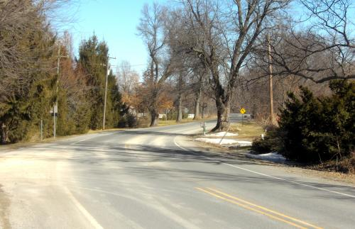 US-23 near Brighton, Michigan